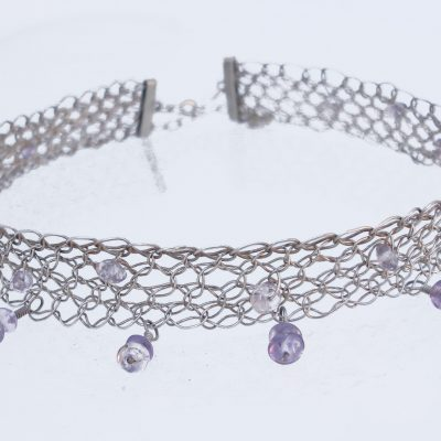 Choker Necklace, Amethyst