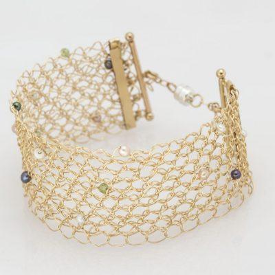 Crochet,GF Pearls Peridot