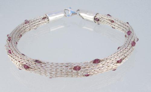 Mesh Bracelet, Tourmaline